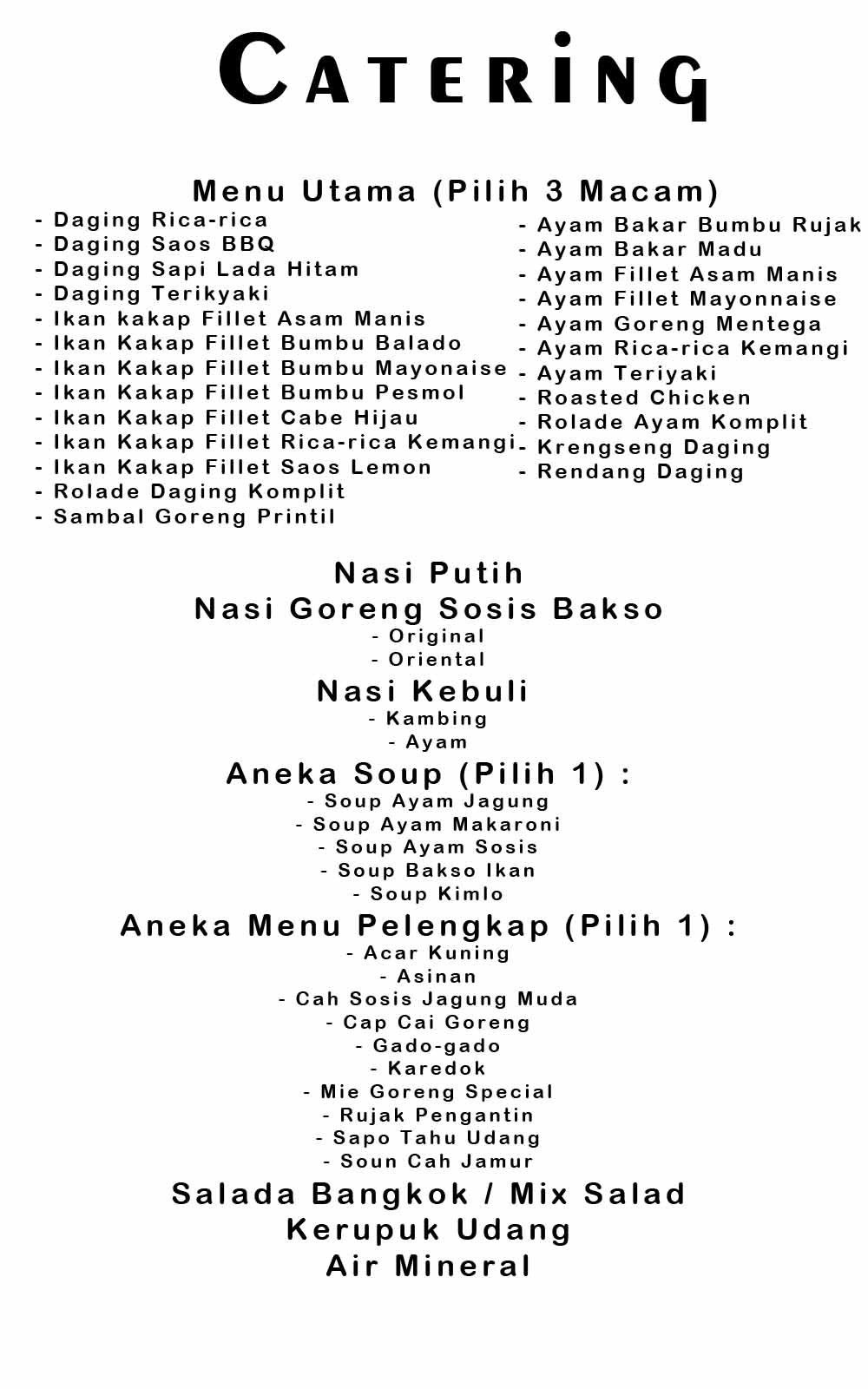 Catering Aster1